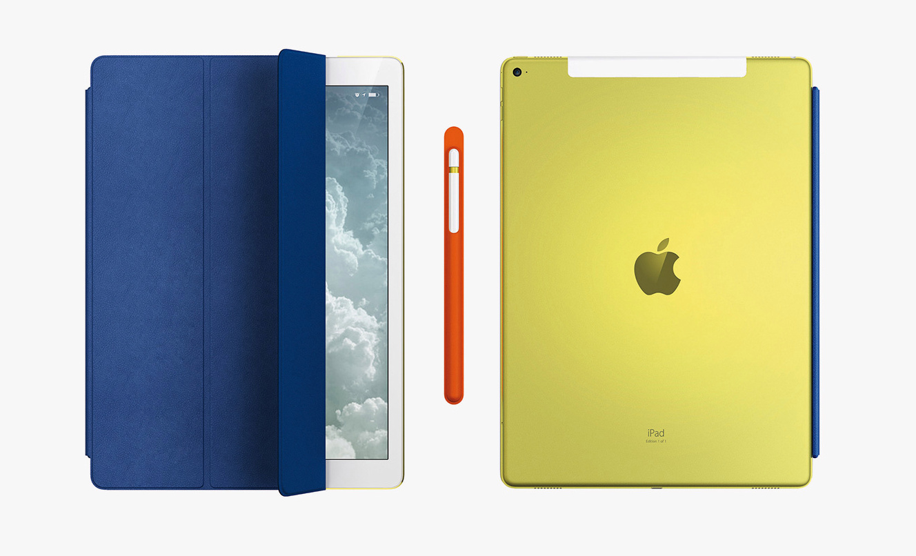 Exclusive from jony Ive: the unique iPad Pro case with Apple and Pencil