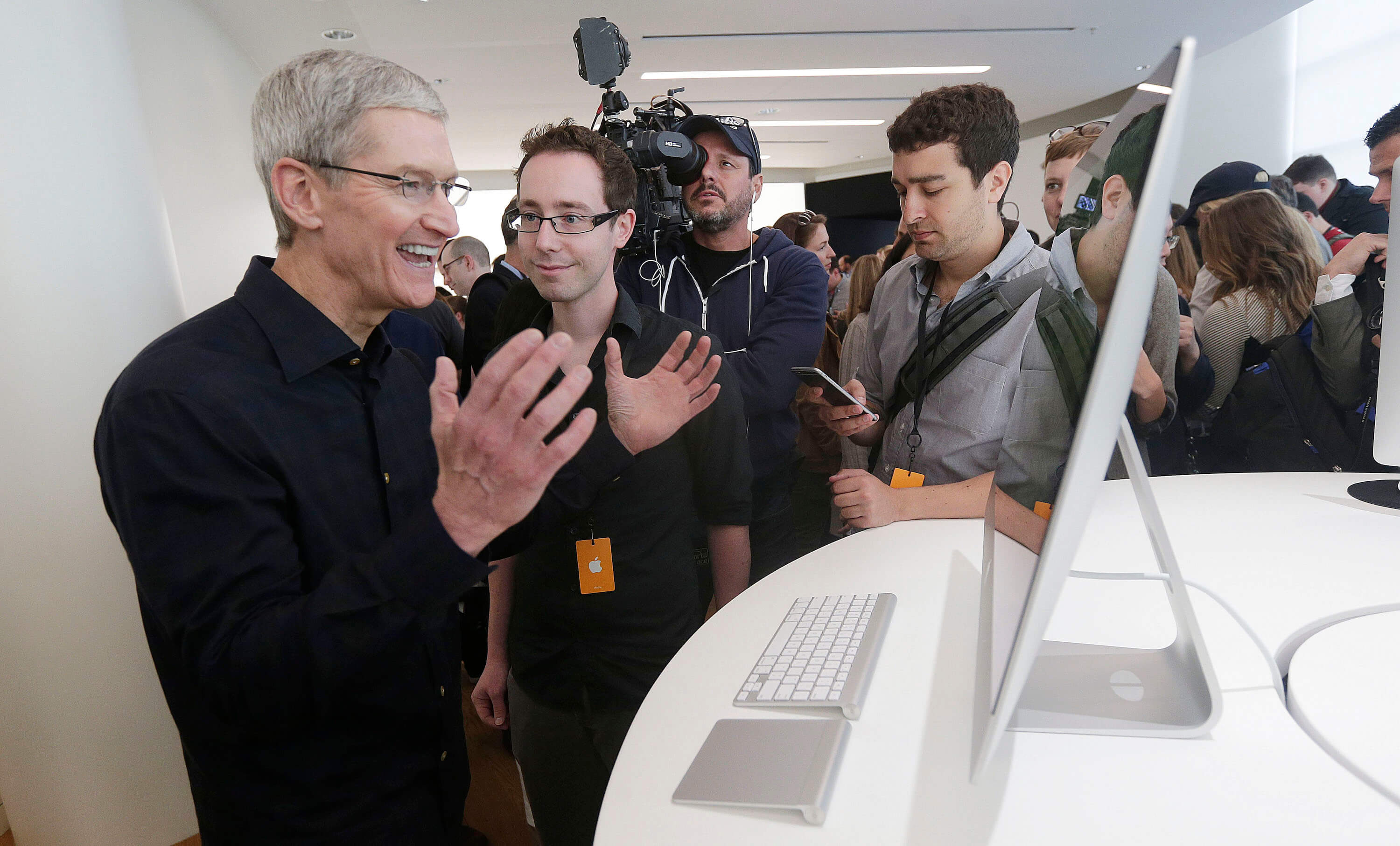 "As Tim cook became the ""titanium"""