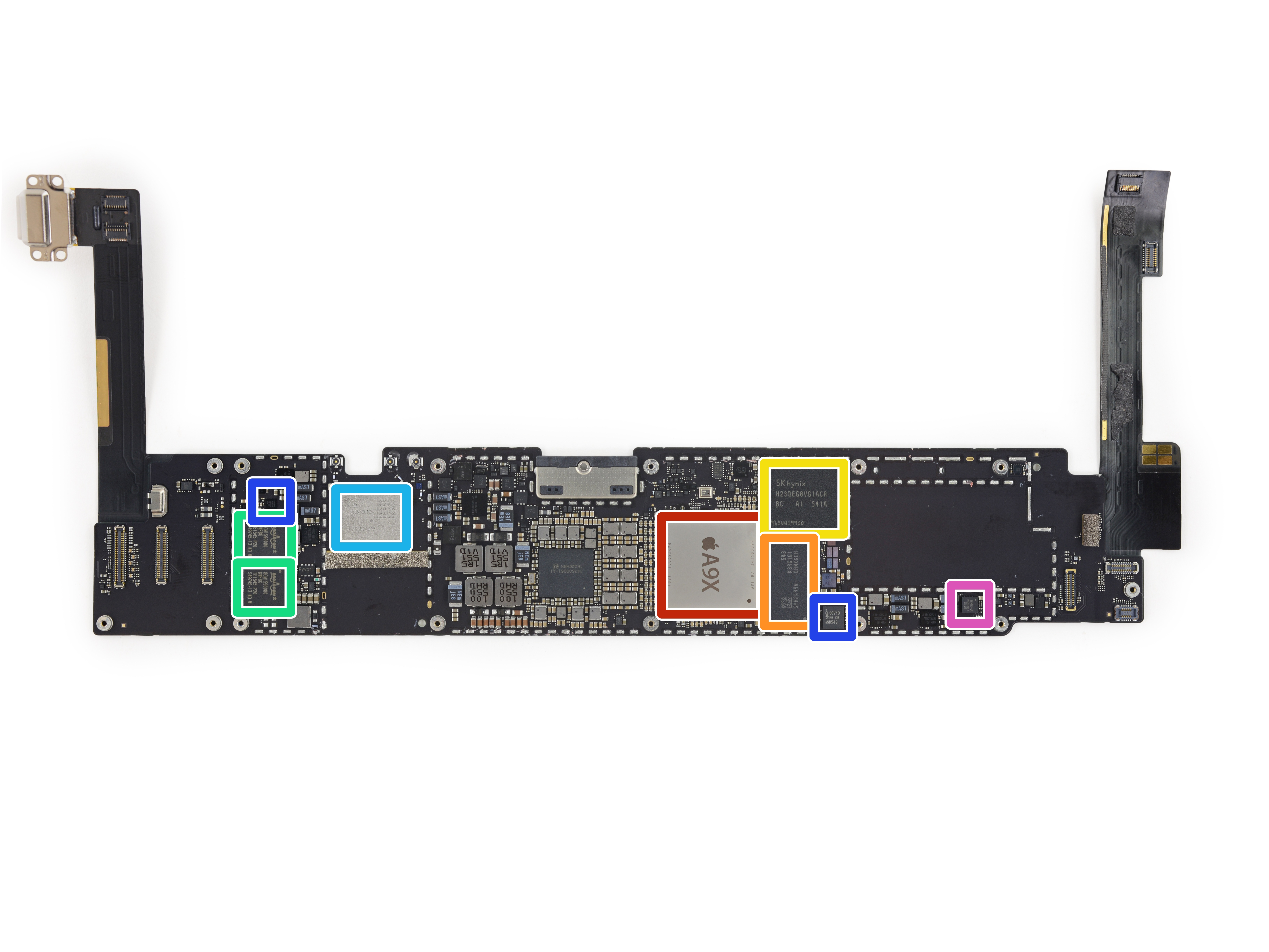 9.7 inch iPad Pro was in the hands of craftsmen from iFixit