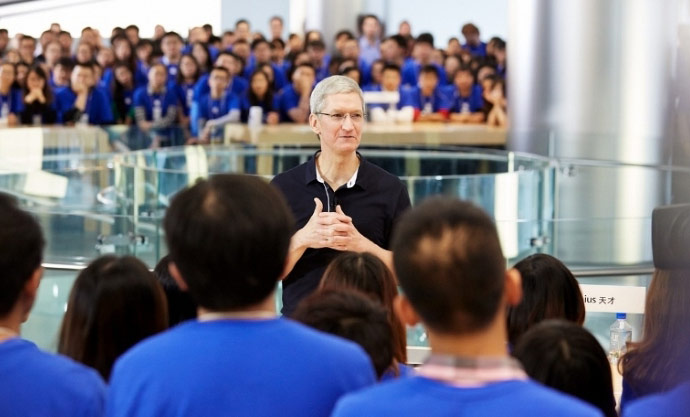 Guard Tim cook cost Apple $210 000 per year