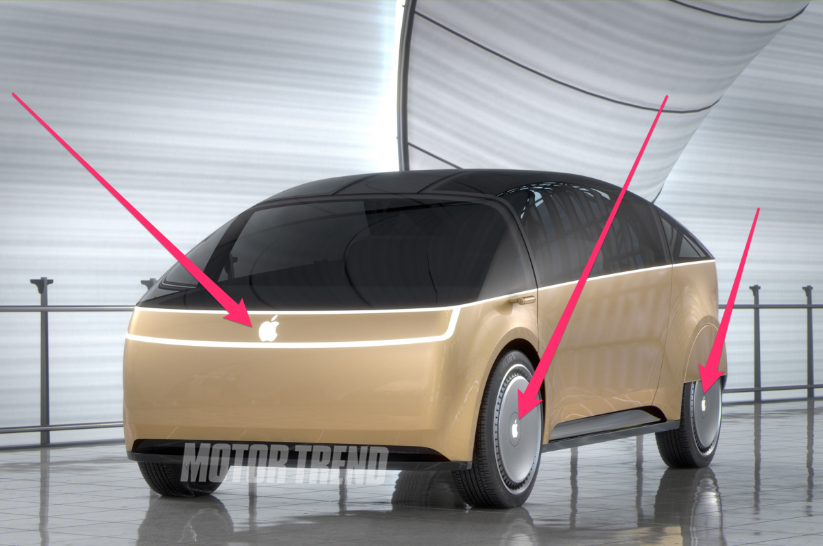 Take a look at the concept of Apple Car, raise your spirits