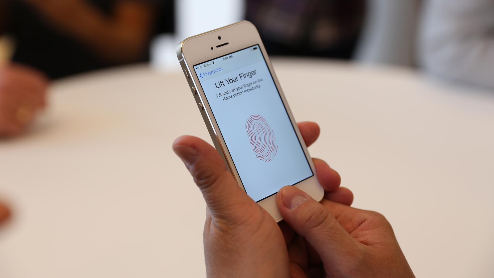 Apple has told how the popular Touch ID