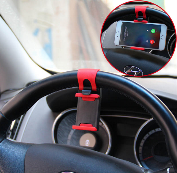 From China with love: hologram, straps, Apple Watch, iPhone on the handlebars and lazy selfie
