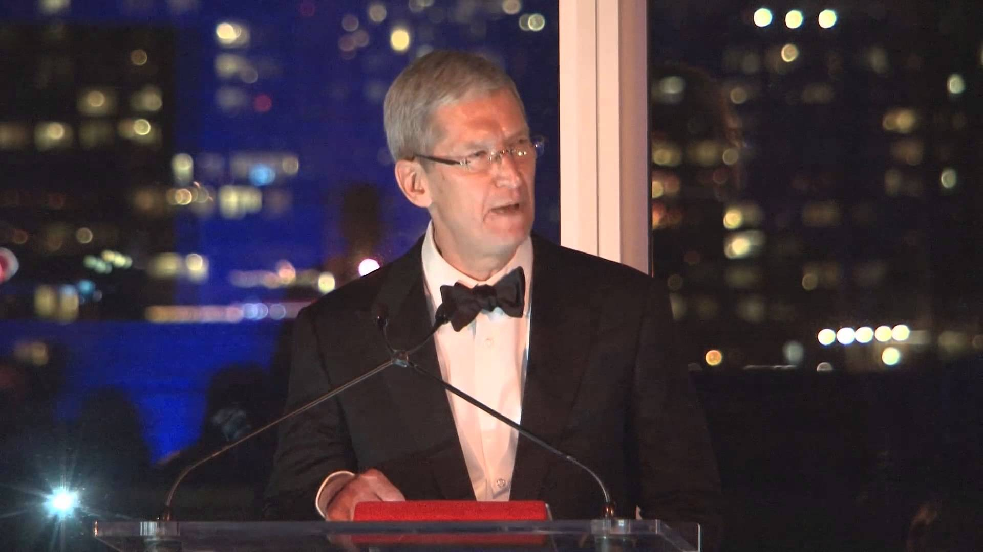 Tim cook led a movement to fight for human rights