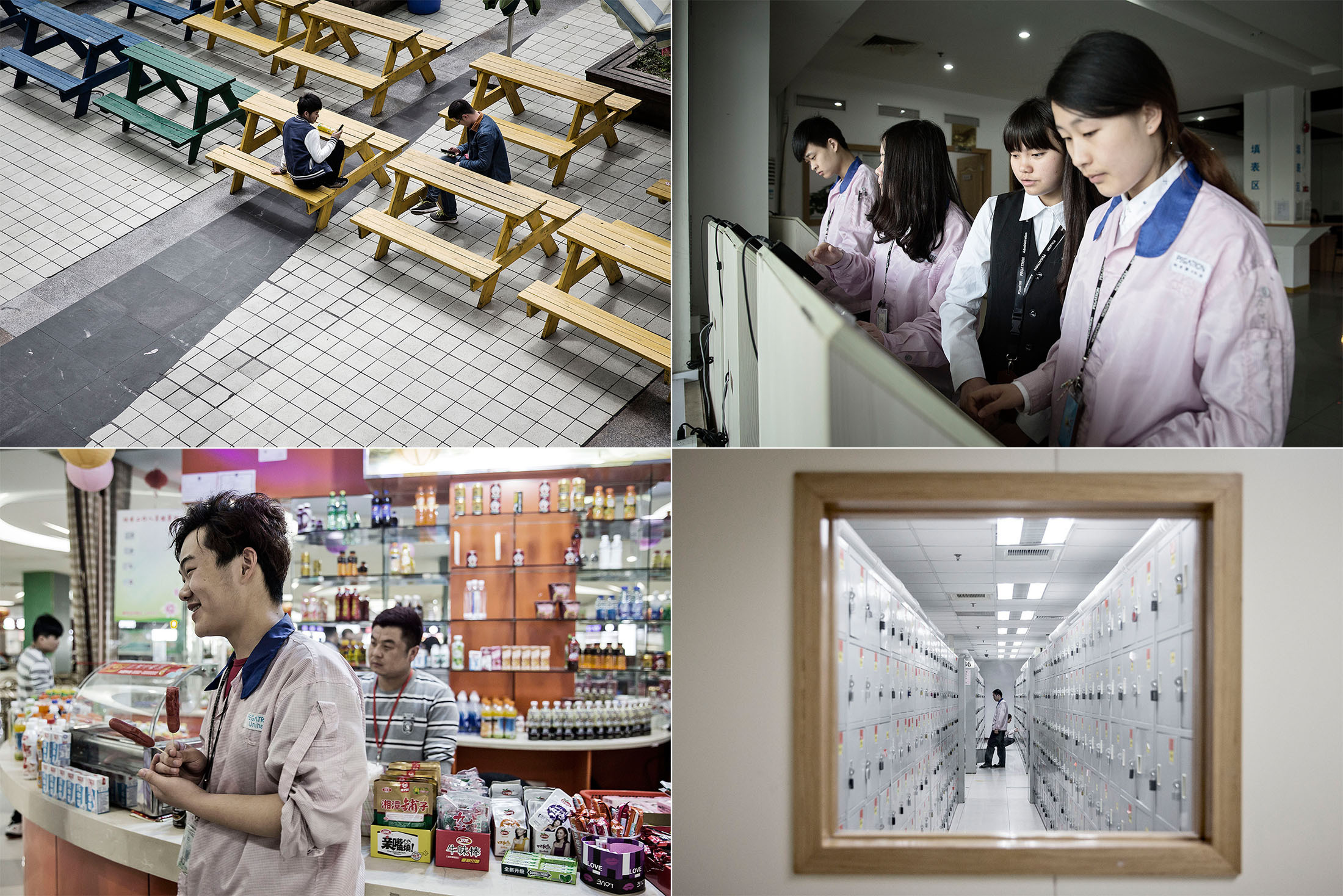 [PHOTOS] How one of the secret factories for the production of iPhone
