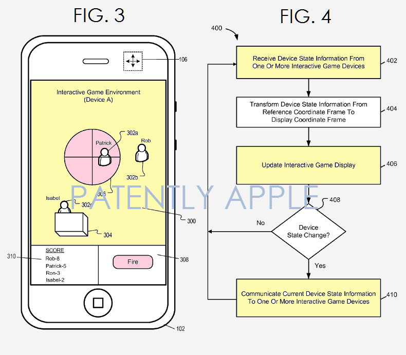 Apple's new patent is associated with paintball and laser tag
