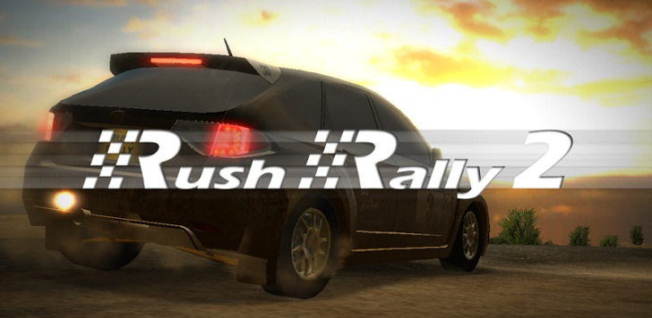 Rush Rally 2 – on the road