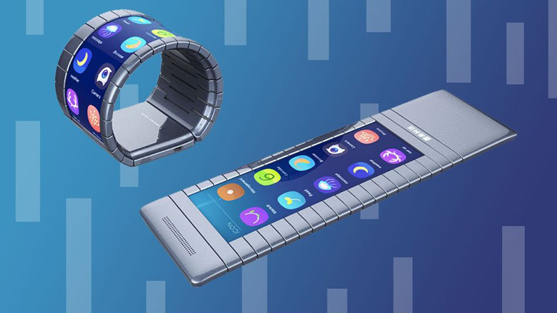The company Moxi until the end of the year will release a smartphone that can wrap around the wrist