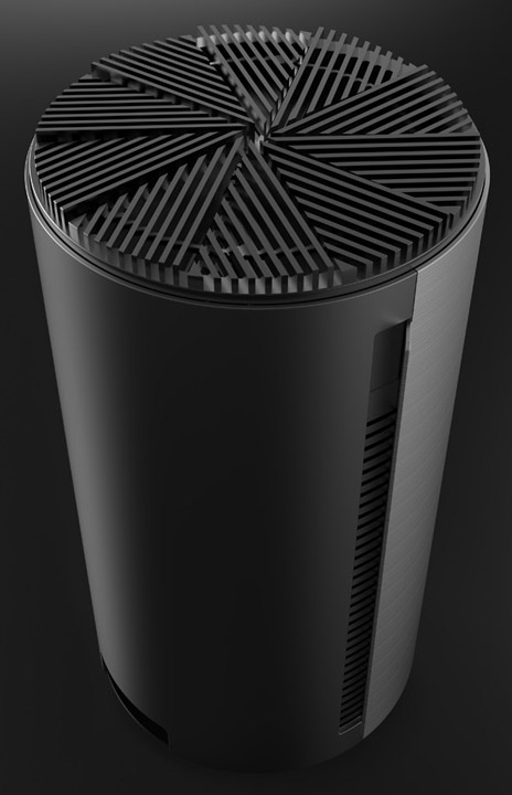 Hence, the Ola: the case for PC, inspired by Mac Pro design