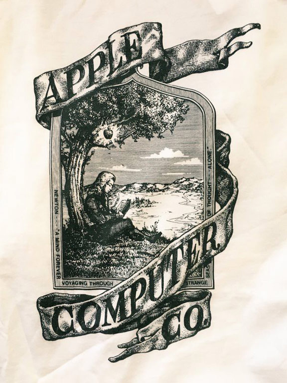 Apple has released a signature collection of t-shirts in a retro style