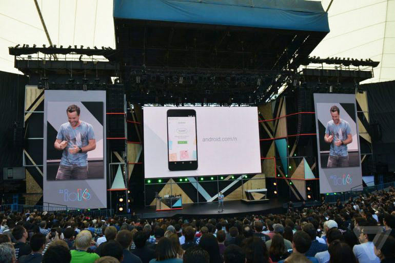 Identifies three major innovations in Android N