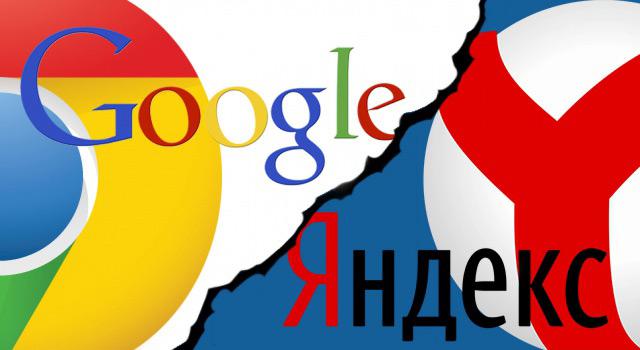 Google is ahead of Yandex in popularity in Russia