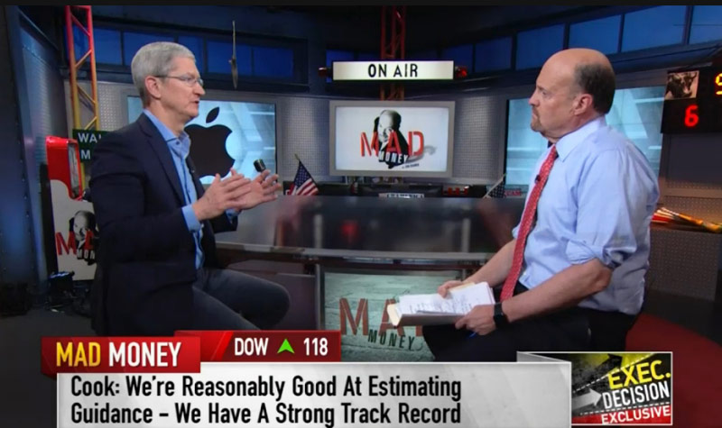 Tim cook: analysts are predicting the decline of the era of Apple, mistaken