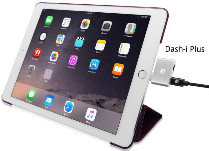 On the issue of card readers Dash-i for Apple mobile devices collected 6 times more than planned