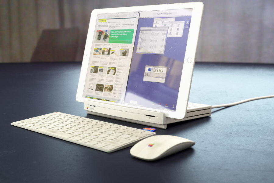 The Germans turned the legendary Macintosh LC in the docking station for the iPad Pro [video]
