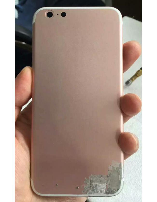 "Foxconn employee posted a photo of the iPhone 7 in the color ""rose gold"""
