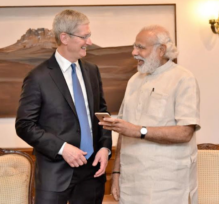 The Indian authorities did not allow Apple to acccess the country Apple Store