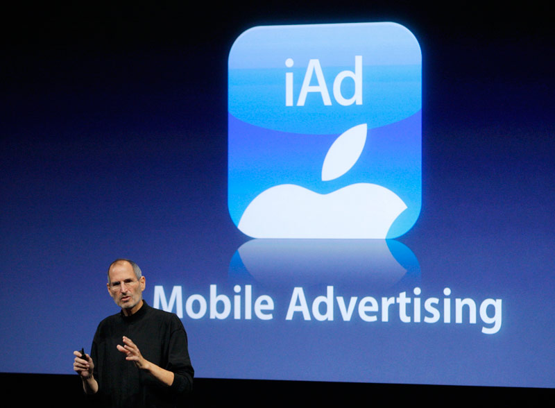 Apple announced the closure of its own advertising network iAd 30 June