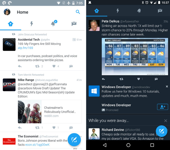 Twitter is testing night mode for mobile version of the service