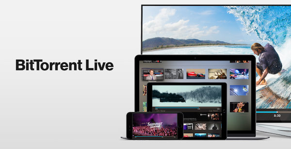 Presented BitTorrent Live – a new live streaming service based on P2P for Apple TV, iOS, Android and Mac