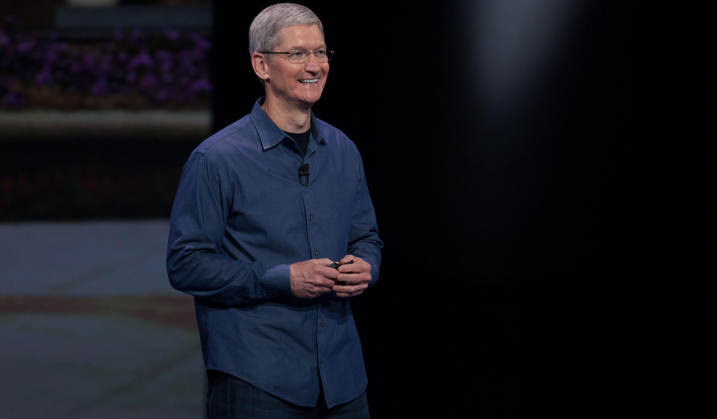 To get a response from Tim cook more real than you think