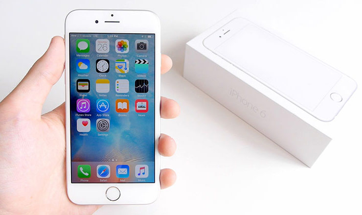 The store in Novosibirsk sold handicraft assembled iPhone 6 under a new