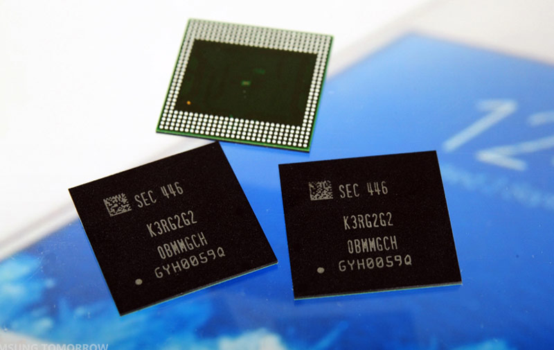 Samsung introduced a 10-nm module of RAM to 6 GB for smartphones