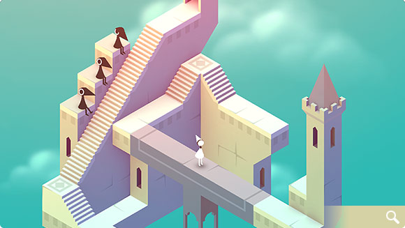 Monument Valley for two years has brought developers to $14.4 million