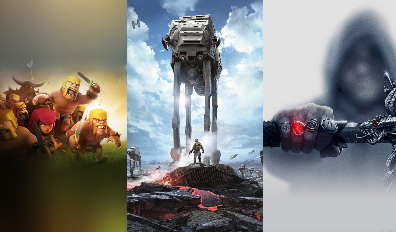 A selection of the best Wallpapers: games