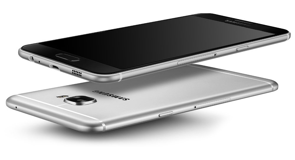 Presented a clone of the iPhone 6s Samsung's metal Galaxy C5 with 4 GB of RAM for $335