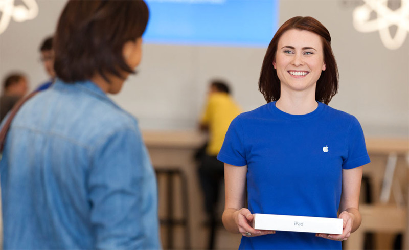Employees at Apple stores regularly receive death threats from buyers