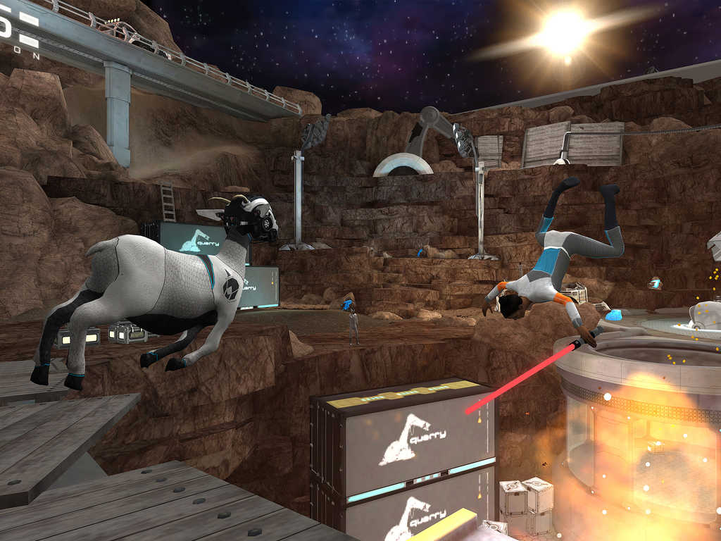 "Goat Simulator Waste of Space: ""goat simulator"" was sent into space [video]"