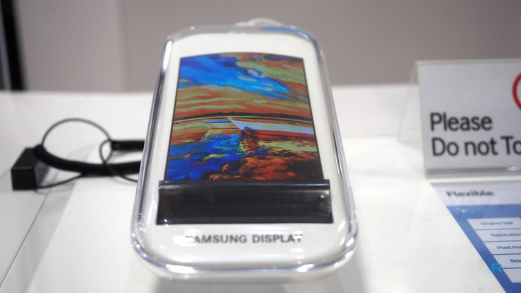 Samsung has shown a collapsible display for smartphones [video]