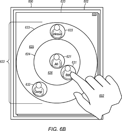 Apple has patented a new method of communication between users of iPhone