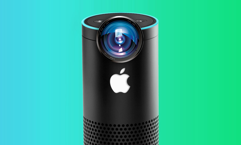 Competitor Amazon Echo Apple get the built-in camera with face recognition function