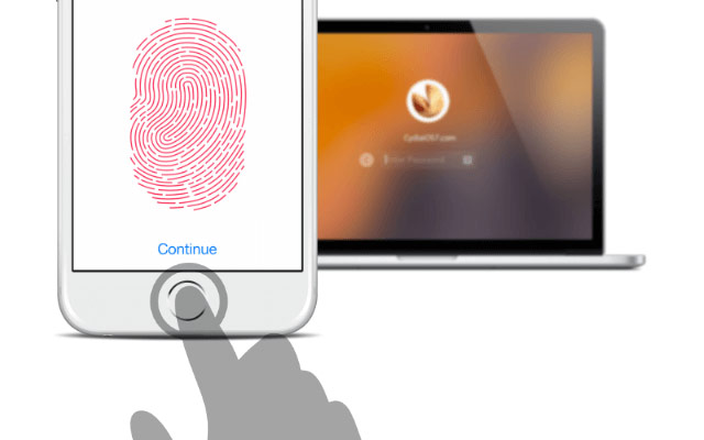 Apple will offer in OS X 10.12 new feature unlock Mac using Touch ID on iPhone