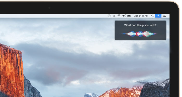 In the Network leaked screenshots of OS X 10.12 with Siri icon