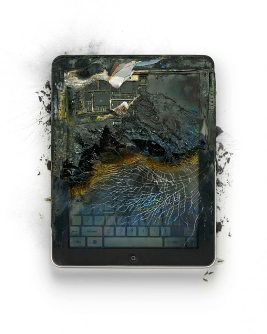 Photos of Apple gadgets, from which it gets painful