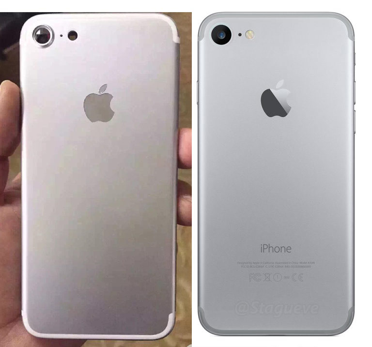 Photos of the alleged iPhone 7 show the protruding camera, new design of antenna panels, display cables