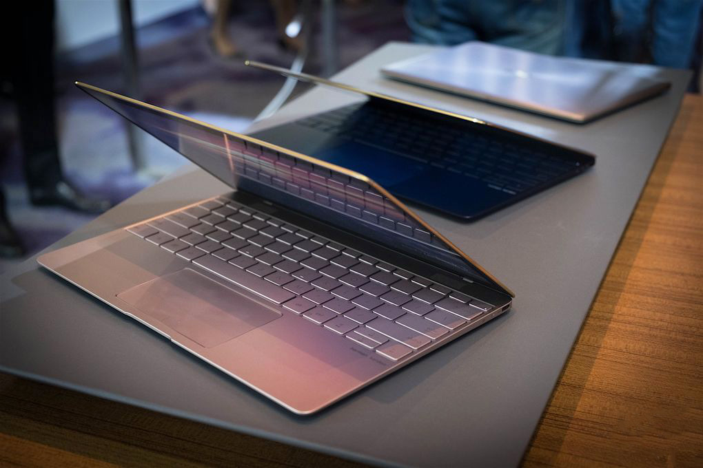 "Asus has announced the ZenBook premium laptop 3, which is ""thinner, lighter and twice as fast as the MacBook"""