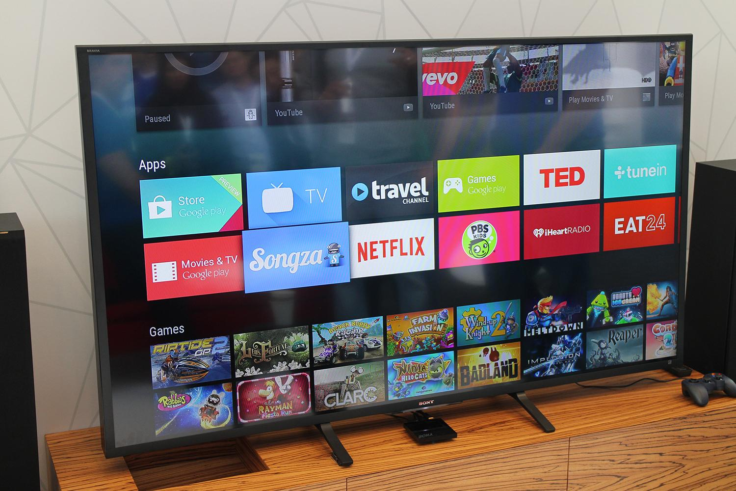 IPhone and iPad users are now able to manage Android-TV