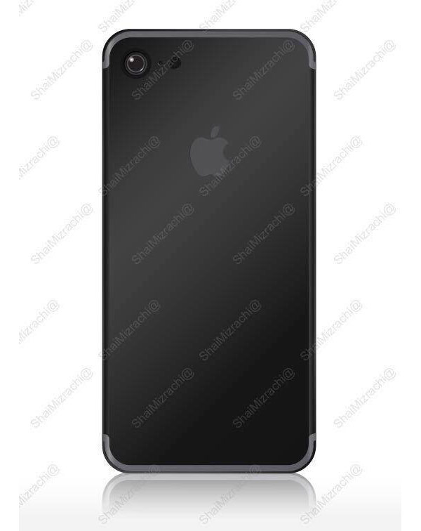 """Will look like iPhone 7 in new color """"Space Black"""""""