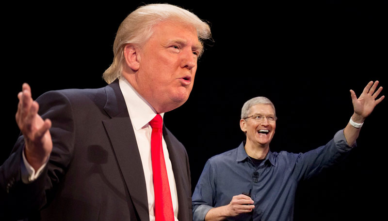 Apple declined to sponsor the election campaign of trump following statements about immigrants and minorities