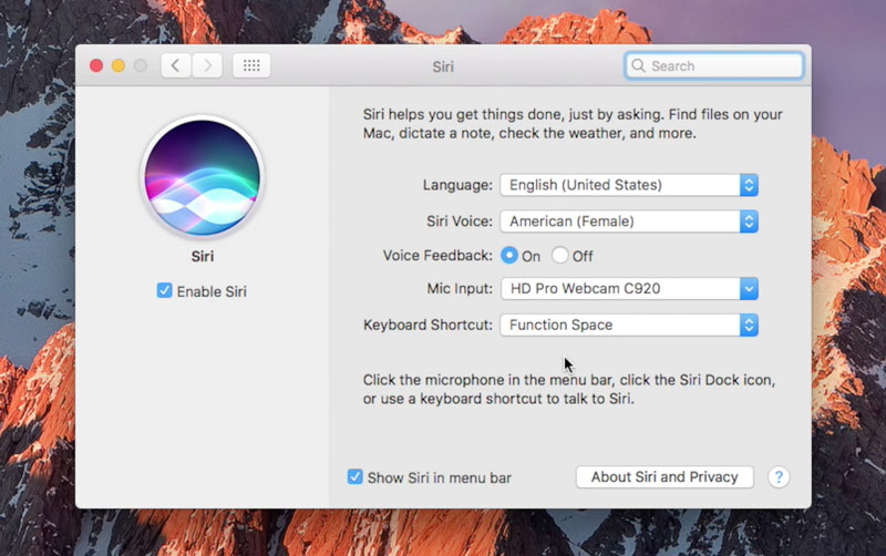 Siri macOS Sierra can be activated in three ways [video]