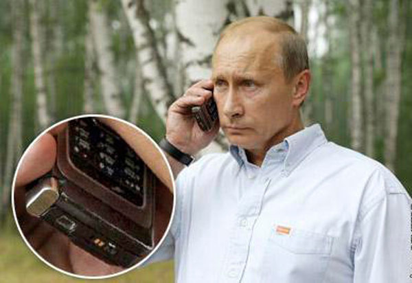 """Someone from the Russian politicians prefer """"unpatriotic"""" Apple products"""