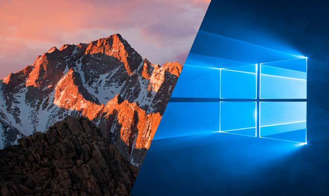 Sierra macOS vs Windows 10: why Apple out of competition