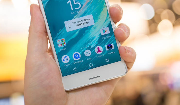 The flagship Sony Xperia X Performance released in Russia on 9 July at a price of 50 000 rubles