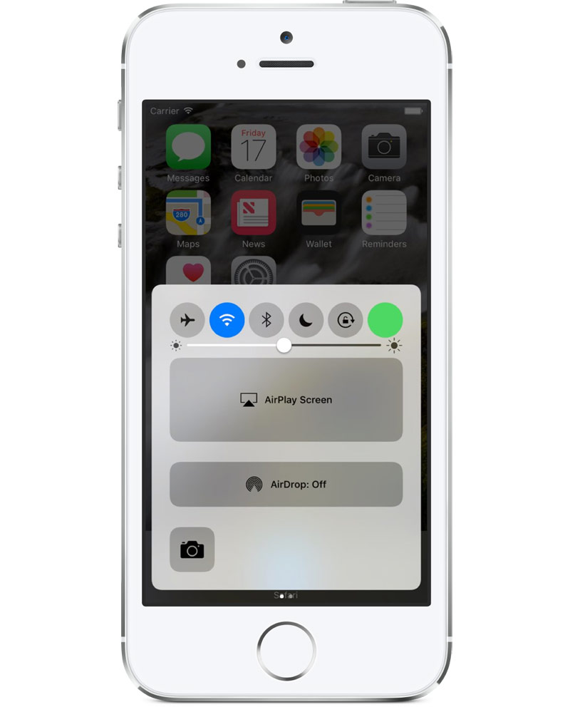 In control center iOS 10 may receive a switch cellular data