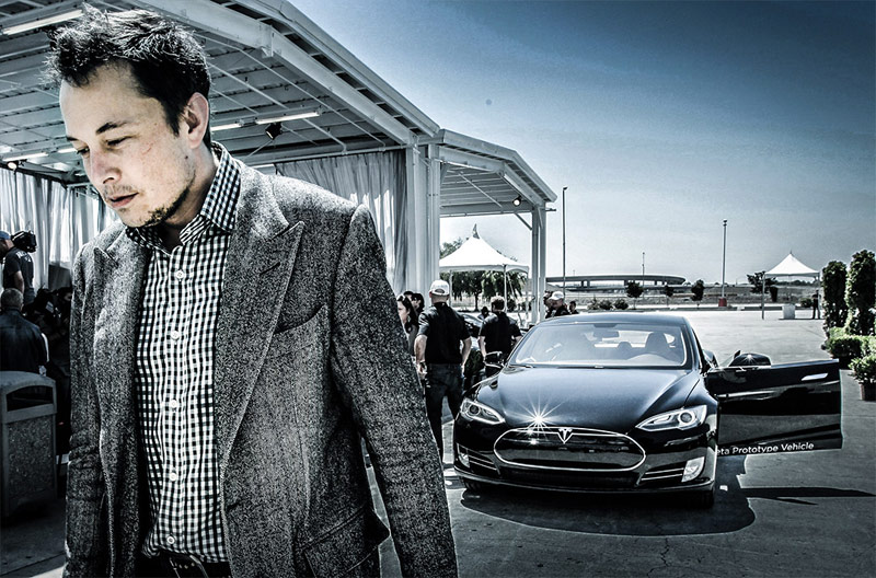 Tesla CEO: Apple was late to develop its own electric car