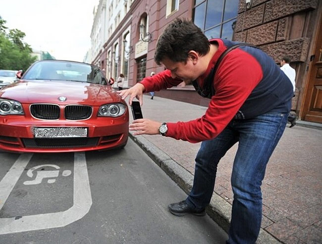 App for dealing with violators of the Parking regulations brought in last year more than 25 million rubles